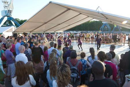 Dans på Kulturkajen